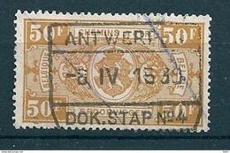 TR 166 Gestempeld ANTWERPEN DOK STAP N° 4 - 1923-1941