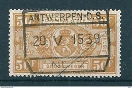 TR 166 Gestempeld ANTWERPEN D S Nr 7 - 1923-1941