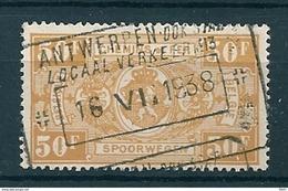 TR 166 Gestempeld ANTWERPEN DOK STAP LOCAAL VERKEER - 1923-1941