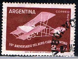 ARGENTINE 1001 // YVERT 57 // 1958 - Aéreo