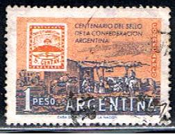 ARGENTINE 1002 // YVERT 61 // 1958 - Aéreo