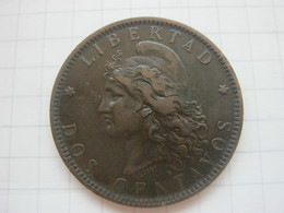 Argentina , 2 Centavos 1893 - Argentina