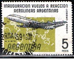 ARGENTINE 1003 // YVERT 62 // 1959 - Aéreo