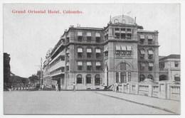 COLOMBO - Grand Oriental Hotel - Ponnambalem 3 - Sri Lanka (Ceylon)