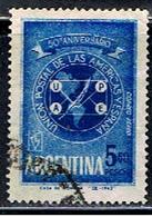ARGENTINE 1004 // YVERT 88 // 1962 - Aéreo