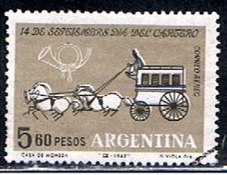 ARGENTINE 1005 // YVERT 85 // 1962 - Posta Aerea