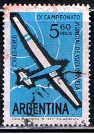 ARGENTINE 1006 // YVERT 89 // 1963 - Aéreo