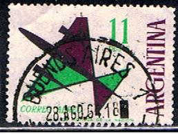ARGENTINE 1008 // YVERT 92 // 1963-65 - Posta Aerea