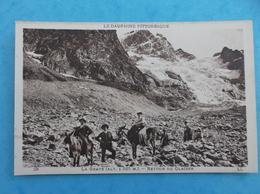 05 : LA GRAVE : RETOUR Des GLACIERS , Animée , C.P.A.,en Bon état - France