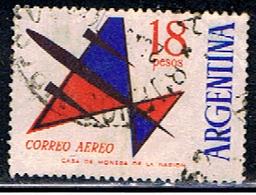 ARGENTINE 1009 // YVERT 93 // 1963-65 - Posta Aerea