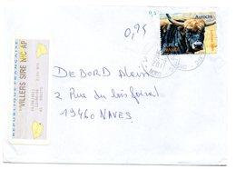 Vignette GAPA Agence Postale Communale APC Nord VILLERS SIRE NICOLE - 2000 «Avions En Papier»