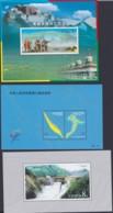 CHINA 2001, 3 Souvenir Sheets, All Mint Never Hinged - Blocs-feuillets