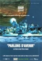 """CPM Pub Banque - BNP """"Parlons D'Avenir"""", Film De Jean-Pierre Jeunet TBE Affiche De Film - Banks"""