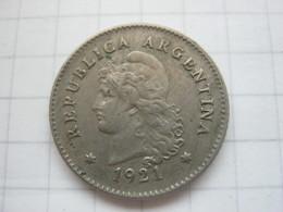 Argentina , 10 Centavos 1921 - Argentine