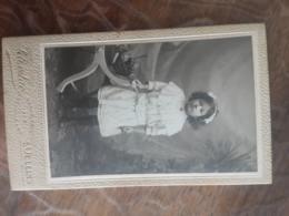 CDV FELIX LAC FILLETTE OULLINS - Alte (vor 1900)