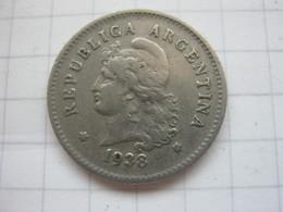 Argentina , 10 Centavos 1938 - Argentine