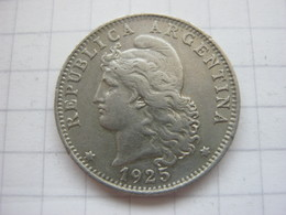 Argentina , 20 Centavos 1925 - Argentine