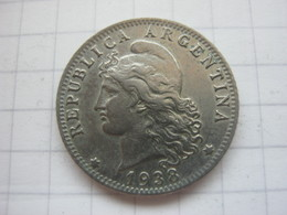 Argentina , 20 Centavos 1938 - Argentina