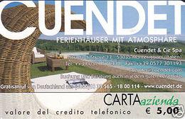 *CARTA AZIENDA 2° Tipo: CUENDET - Cat. 812* - NUOVA (MINT) (DT) - Italie