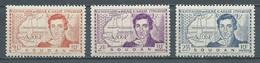 Soudan YT N°100/102 René Caillié Neuf ** - Sudan (1894-1902)