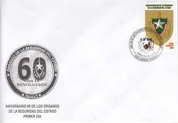 Cuba  2019  Security  FDC - FDC