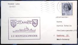"""ALLEMAGNE Rep.Fédérale - BUND - Brief Mit Schiffspost-Stempeln, Dabei """" LAHN """" - [7] West-Duitsland"""
