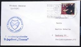 """ALLEMAGNE Rep.Fédérale - BUND - Brief Mit Schiffspost-Stempeln, Dabei """" THESEUS """" - [7] West-Duitsland"""