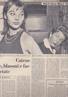 (pagine-pages)ELSA MARTINELLI    L'europeo1955/503. - Books, Magazines, Comics