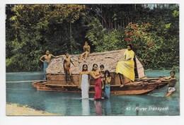 Ceylon - River Transport - Colombo Apothecaries 45 - Sri Lanka (Ceylon)