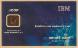 IBM JCOP 2001 - Cartes De Salon Et Démonstration