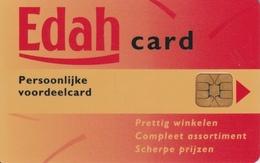 EDAH Loyalty Card Pays-Bas - Ausstellungskarten