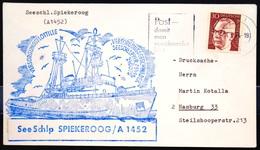 """ALLEMAGNE Rep.Fédérale - BUND - Brief Mit Schiffspost-Stempeln, Dabei """" SPIEKEROOG """" - [7] West-Duitsland"""