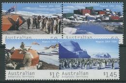 Austral. Antarktis 2004 50 Jahre Mawson-Forschungsstation 157/60 Postfrisch - Neufs