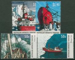 Austral. Antarktis 2003 Dänische Forschungsschiffe 153/56 Postfrisch - Neufs