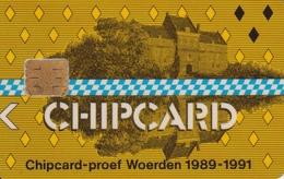 Chipcard Proof Woerden Pays-Bas - Cartes De Salon Et Démonstration