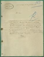 16 La Couronne Boyer Charles Représentant Pour Papeteries - Imprimerie & Papeterie
