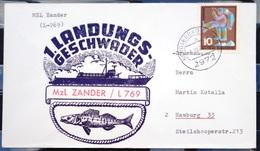 """ALLEMAGNE Rep.Fédérale - BUND - Brief Mit Schiffspost-Stempeln, Dabei """" ZANDER """" - [7] West-Duitsland"""
