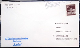 """ALLEMAGNE Rep.Fédérale - BUND - Brief Mit Schiffspost-Stempeln, Dabei """" LACHS """" - [7] West-Duitsland"""