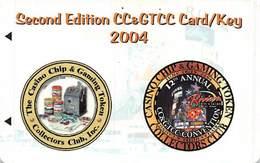 Second Edition CCGTCC Card/Key 2004 - Cartes De Casino