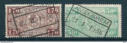 TR 148A + 164 Gestempeld AVELGHEM - 1923-1941