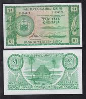 WESTERN SAMOA1 Tala  ND ( 1967 ) P 16 D UNC - Samoa
