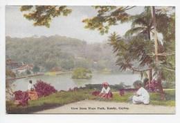KANDY - View From Wace Park - Plate 40 - Sri Lanka (Ceylon)