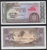 WESTERN SAMOA  10 Tala ND ( 1967 ) P 18 D UNC - Samoa