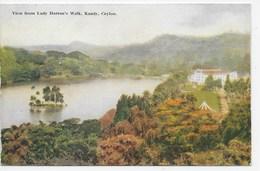 KANDY - View From Lady Horton's Walk - Plate 37 - Sri Lanka (Ceylon)