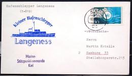 """ALLEMAGNE Rep.Fédérale - BUND - Brief Mit Schiffspost-Stempeln, Dabei """" LANGENESS """" - [7] West-Duitsland"""