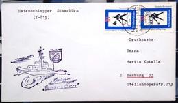 """ALLEMAGNE Rep.Fédérale - BUND - Brief Mit Schiffspost-Stempeln, Dabei """" SCHARHÖRN """" - [7] West-Duitsland"""