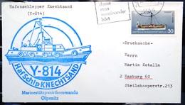 """ALLEMAGNE Rep.Fédérale - BUND - Brief Mit Schiffspost-Stempeln, Dabei """" KNECHTSAND """" - [7] West-Duitsland"""