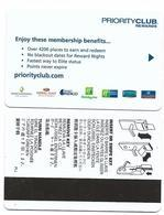 Priority Club Rewards, InterContinental, Others, Used Magnetic Hotel Room Key Card # Priority-1 - Chiavi Elettroniche Di Alberghi
