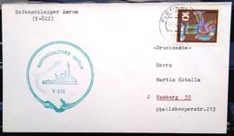 """ALLEMAGNE Rep.Fédérale - BUND - Brief Mit Schiffspost-Stempeln, Dabei """" AMRUM """" - [7] West-Duitsland"""