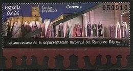 2019-ED. 5332 -50 Aniv. De La Representación Medieval Del Reino De Nájera -USADO - 2011-... Used